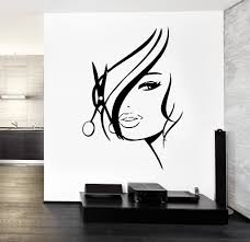 Small Picture Wall Decal Hair Salon Barbershop Hair Cuttery z3201 Barbershop