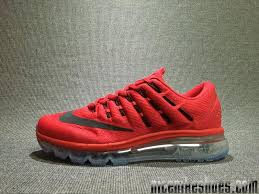 nike running shoes 2016 red. nike air max 2016 latest mens sneakers cushion red running shoes