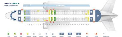 737 800 Seating Chart Seat Map Boeing 737 800 Westjet Best Seats In The Plane