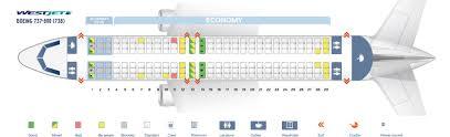 seat map boeing 737 800 westjet