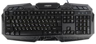 Купить <b>клавиатуру CBR KB 875</b> Armor black в Москве, цена ...