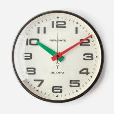 add retro style to your home with newgate s mid century wall clocks