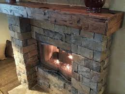 hand hewn ax cut walnut mantle from 1860 s barn it turned