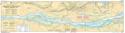 Chs Nautical Chart Chs6419 Norman Wells To A Carcajou Ridge Kilometre 910 Kilometre 980