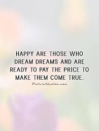 Happy Dreams Quotes