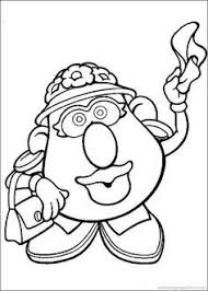 mr and mrs potato head coloring pages. Mr And Mrs Potato Head Toy Story Colouring Google Search To Coloring Pages
