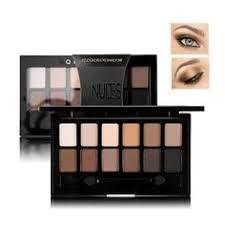 2018 New Make Up <b>Burgundy 9 Colors Eye</b> Shadow Set Natural ...
