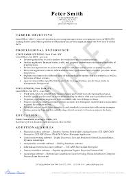 Loan Processor Resume Example Inspirational Mortgage Loan Ficer