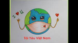 Vẽ Trái Đất Đeo Khẩu Trang Đơn Giản Nhất   How To Draw The Earth Wearing A  Mask - YouTube   Trái đất, Anime, Hình ảnh