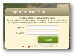 classical conversations registration form how to register on cc connected classical conversations customer