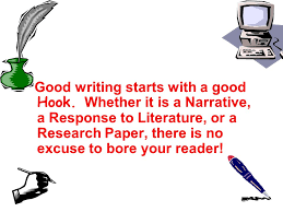 hooks and leads start your essay off a bang ppt  3 good