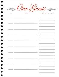 guest book refill sheets (pkg of 25) Wedding Guest Book Refill Pages Wedding Guest Book Refill Pages #27 Personalized Guest Book Pages