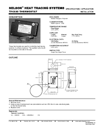 tf4x40 thermostat, specification application Thermostat Wiring Color Code at Capillary Thermostat Wiring Diagram