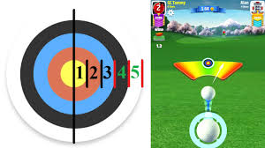 Wind Ring Chart Golf Clash Golf Clash Tips Wind Guide Learn The Ringsystem Including Elevation Min Mid Max And Powerball