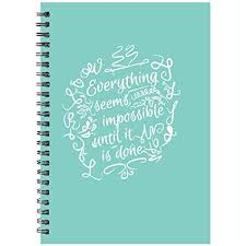Printelligent Plain 140 Pages Notebook Personal Diary Doodle