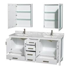 elegant 72 inch vanity for your bathroom design sheffield double sink white