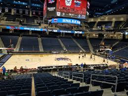 Wintrust Arena Seating Chart With Rows Wintrust Arena Section 110 Depaul Basketball