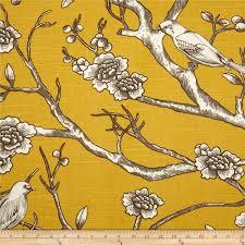 Small Picture Dwell Studio Vintage Blossom Slub Citrine Discount Designer
