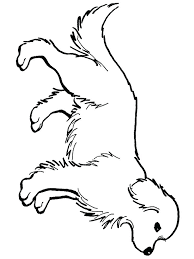 Golden Retriever Coloring Pages Golden Retriever Coloring Pages To