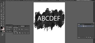 Cutting Text Through A Background Vector In Illustrator Problem