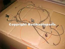 used parts buick 1966 buick skylark 2 dr parts car 310 engine 1966 buick skylark tail light harness bulbs wires were cut and replaced has a trunk lamp 25 00