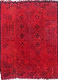 vintage overdyed rugs hand knotted vintage 6 7 x 8 7 red overdyed vintage rugs australia vintage overdyed rugs