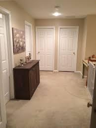 Sherwin Williams Kilim Beige: Pain Colors, Hallway, Neutral Paint Color,  Hallway Decor, White Trim, White Doors
