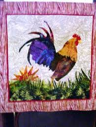 Big Rooster - applique quilt pattern. | Quilting | Pinterest | Big ... & rooster quilt Adamdwight.com
