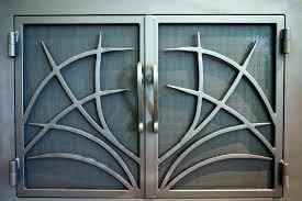 stainless steel fireplace doors s s stainless steel indoor fireplace doors