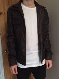 superdry brand leather er jacket mens super dry clothing superdry t shirts