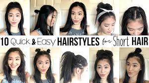 Easy Hairstyles For Short Hair Worldbizdata Com