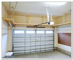 diy hanging garage shelves plans free to build storage cabinets overhead for the home architectures good looking pla