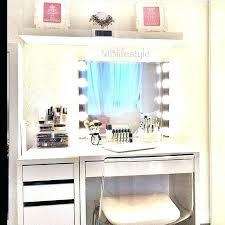 makeup desk storage vanity table bedroom set intended for inspirations 17