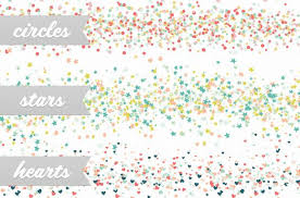 Confetti Brush Photoshop Confetti Party Scatter Brushes 5 Confetti Party Is A