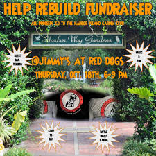 help us bring the garden back join us on thurs oct 18 at jimmy s at red dogs 5 n lumina ave wrightsville beach from 6p 9p to help us raise money to