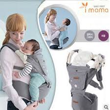 carrier baby. [local seller] imama hip seat baby carrier / breathable with
