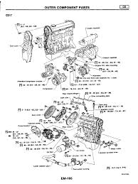 Manual de motor nissan cd17 cd20 belt mechanical cylinder engine