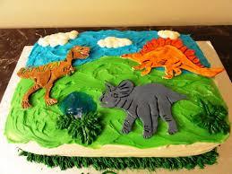 Dinosaur Birthday Cakes For Boys Wedding Academy Creative Easy
