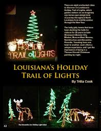 Alexandria Zoo Holiday Lights Travelworld International Holiday Travel Nov Dec 2014 By
