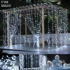ac220v 110v 3m 20 led bubble water drop string fairy light for wedding party christmas patio garland curtain home decor
