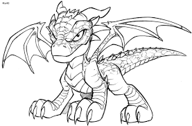 Small Picture coloring pages draw a simple dragon free printable dragon coloring
