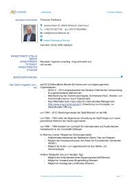 Europass Lebenslauf Deutsch Doc Sample Customer Service Resume