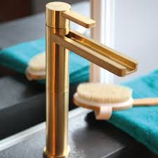 free shipping luxury led basin sink faucet with single handle brass bathroom waterfall for hot cold mixer taps
