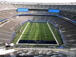 Metlife Stadium Seating Chart Metlife Stadium View From Upper Level 301 Vivid Seats