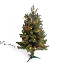 bethlehem lighting christmas trees. GKI Bethlehem Lighting 2-Foot Green River Spruce Christmas Tree Pre-lit With 35 Trees S