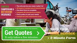 compare campervan insurance motorhome insurance quotes