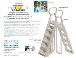 integrity a frame pool ladder