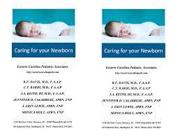 Caring for your Newborn Caring for your Newborn