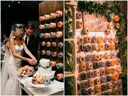 latest catering trend of 2018 mouth watering donut wedding walls