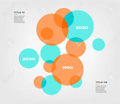 Elements Of A Venn Diagram Bubble Chart With Elements Venn Diagram Infographics For Three